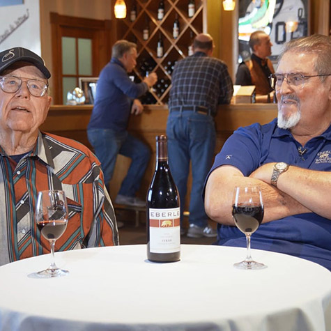 The Legacy of Gary Eberle: Grapes & the Eberle Vineyard
